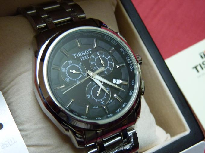 BRAND NEW ORIGINAL TISSOT T-SPORTS CHRONOGRAPH BOXED  | ClickBD large image 1