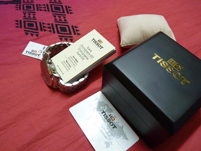 BRAND NEW ORIGINAL TISSOT T-SPORTS CHRONOGRAPH BOXED  | ClickBD large image 2