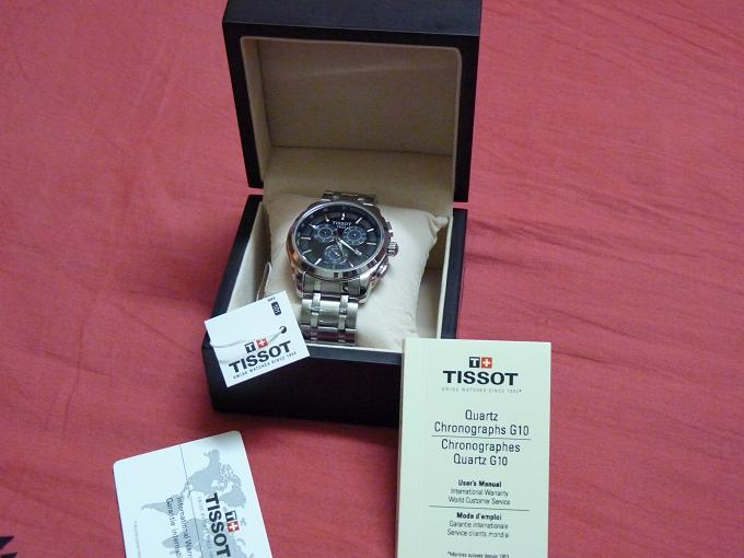 BRAND NEW ORIGINAL TISSOT T-SPORTS CHRONOGRAPH BOXED  | ClickBD large image 3