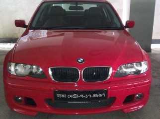 BMW 3 Series Saloon 2004 with M3 Body Kit