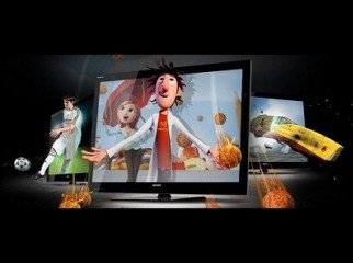SONY BRAVIA 40 LED 3D Full package 3D player 2 Glass movie