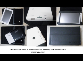 Tablet PC with Android OS and WiFi 3G Functions GPRS