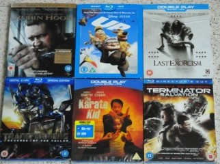 Original Blu-Ray Movies Limited Sleeve Covers Editions