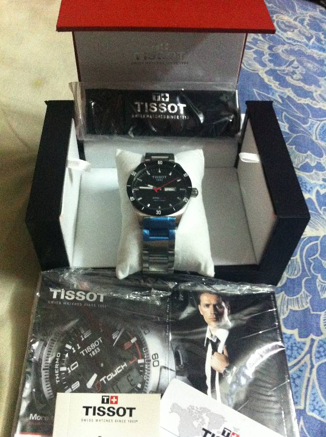 BRAND NEW ORIGINIAL TISSOT PRS 516 for with Everything BOXED | ClickBD large image 0