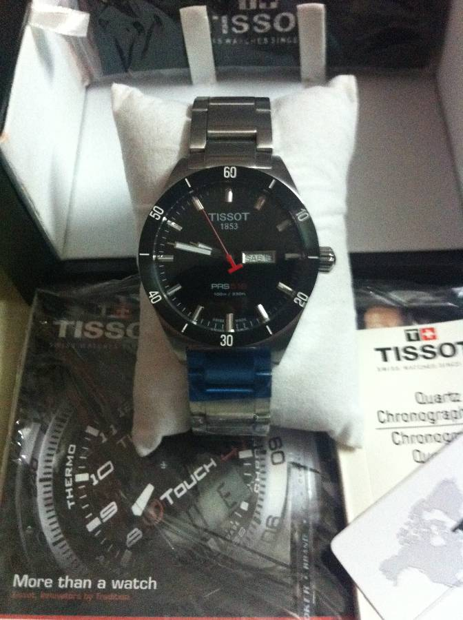BRAND NEW ORIGINIAL TISSOT PRS 516 for with Everything BOXED | ClickBD large image 1