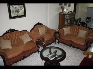 Sofa Set Almost New Condition