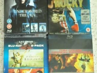 Original Blu-Ray Movies Box Sets New Sealed