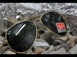 Ray Ban RB3027 Aviator GOLD WITH ALL ACCESORIES | ClickBD large image 0