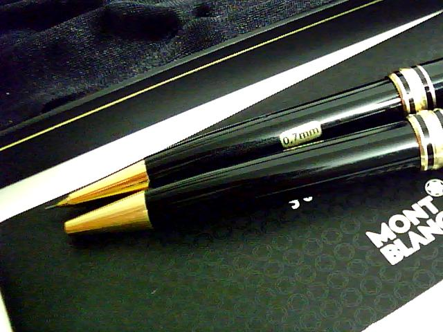 GERMAN MADE AUTHENTIC MONTBLANC BALL PEN PENCIL SET | ClickBD large image 2