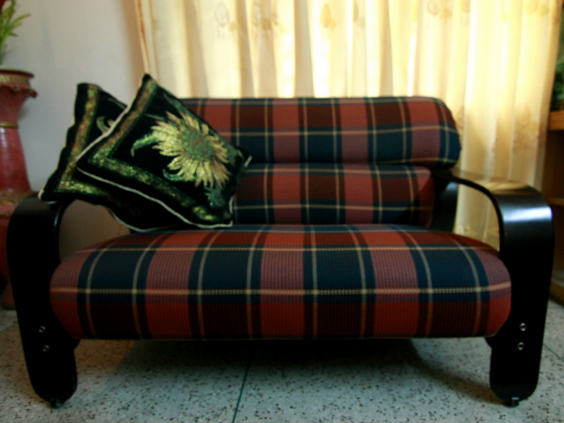 Hatil made Sofa set segun wood  | ClickBD large image 1
