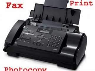 used CANON Fax with PC Print Copy option