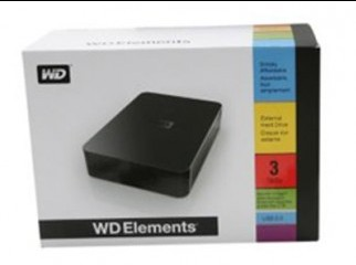 3TB Western Digital Elements.Model WDBAAU0030HBK