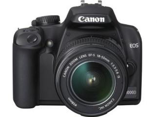 Canon EOS 1000D 18-55mm USM lens