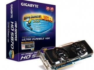 GIGABYTE HD RADEON 5870 for sale..Better then 6870