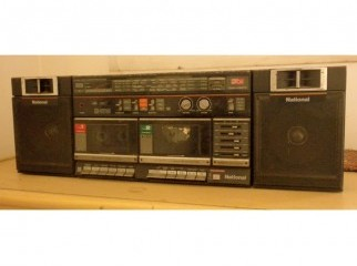 double deck cassette player