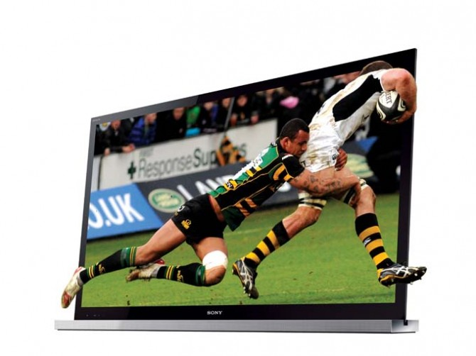 SONY BRAVIA 40 LED 3D TV HX 810 3D LeD | ClickBD large image 0