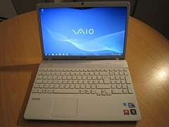 Sony VAIO VPC-S137GX B 13.3-Inch Laptop | ClickBD large image 0