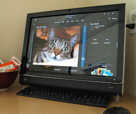 HP Touch Smart IQ500t | ClickBD large image 0