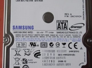 320GB Laptop Hard Disk With 1 Yrs Warranty