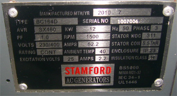STAMFORD 16KV Generator available for sale. | ClickBD large image 2