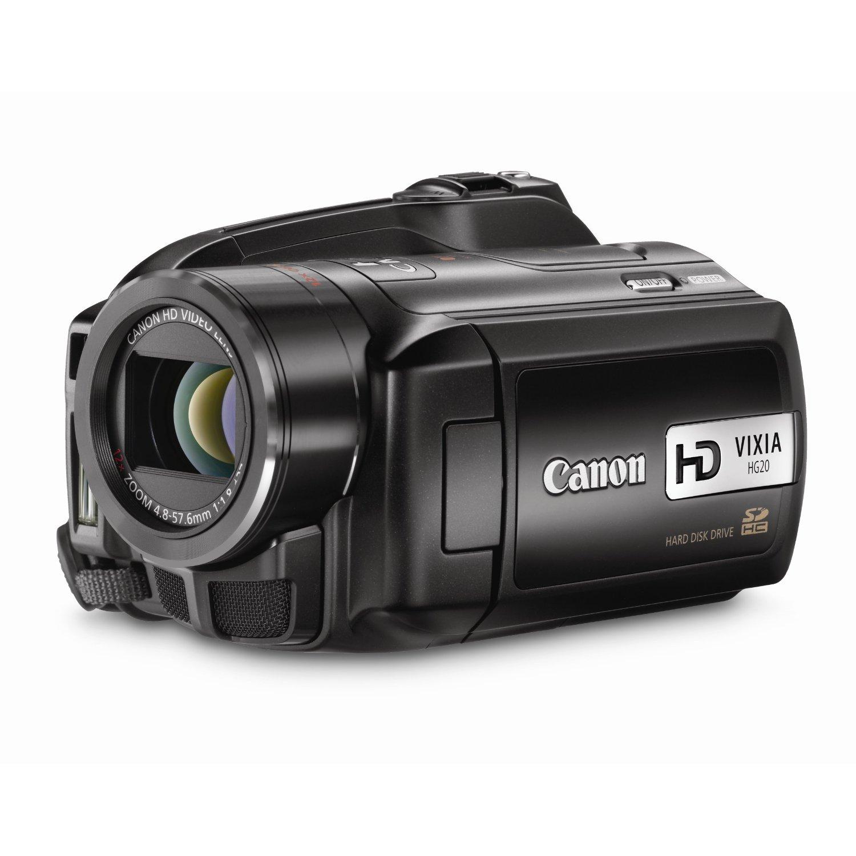 Canon Vixia Hg20 Hd 60 Gb Hdd Camcorder Clickbd