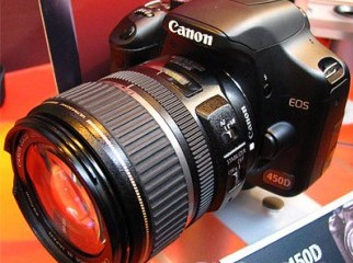 canon 450d with 18-55 lens
