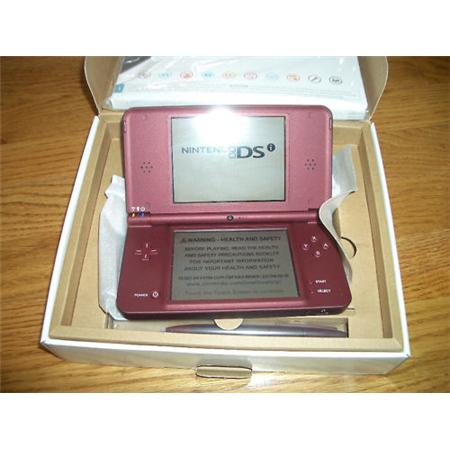 Nintendo DSi XL Burgundy Console | ClickBD large image 0