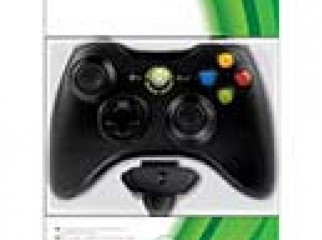Xbox 360 black Wireless Controller And Play Charge Bundle