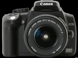 Canon EOS 350D Digital Rebel XT