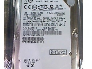 SATA 500GB HITACHI Hard drive with 3 years warranty