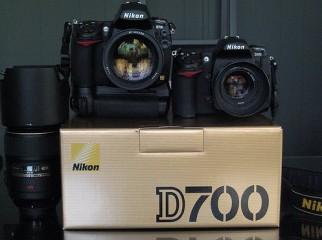 nicon camera d700