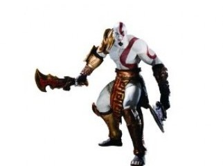 DC Unlimited God of War Series 1 Kratos Action Figures