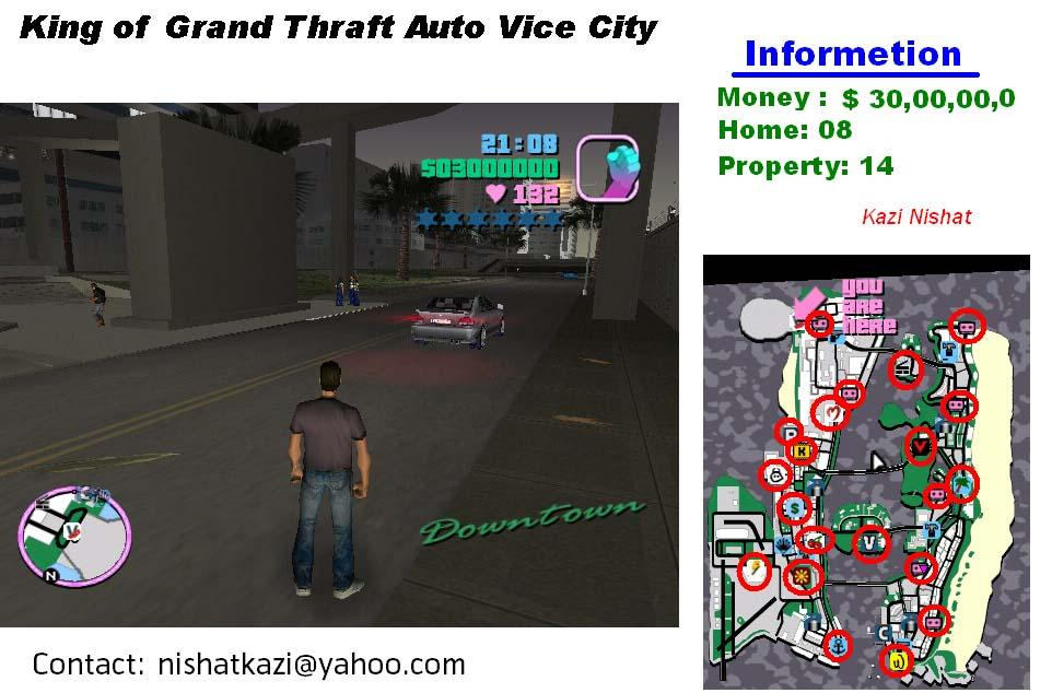 King of GTA Vice City | ClickBD large image 0