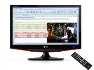 LG 22 LCD TV With 2yrs Warranty Box 01717001477