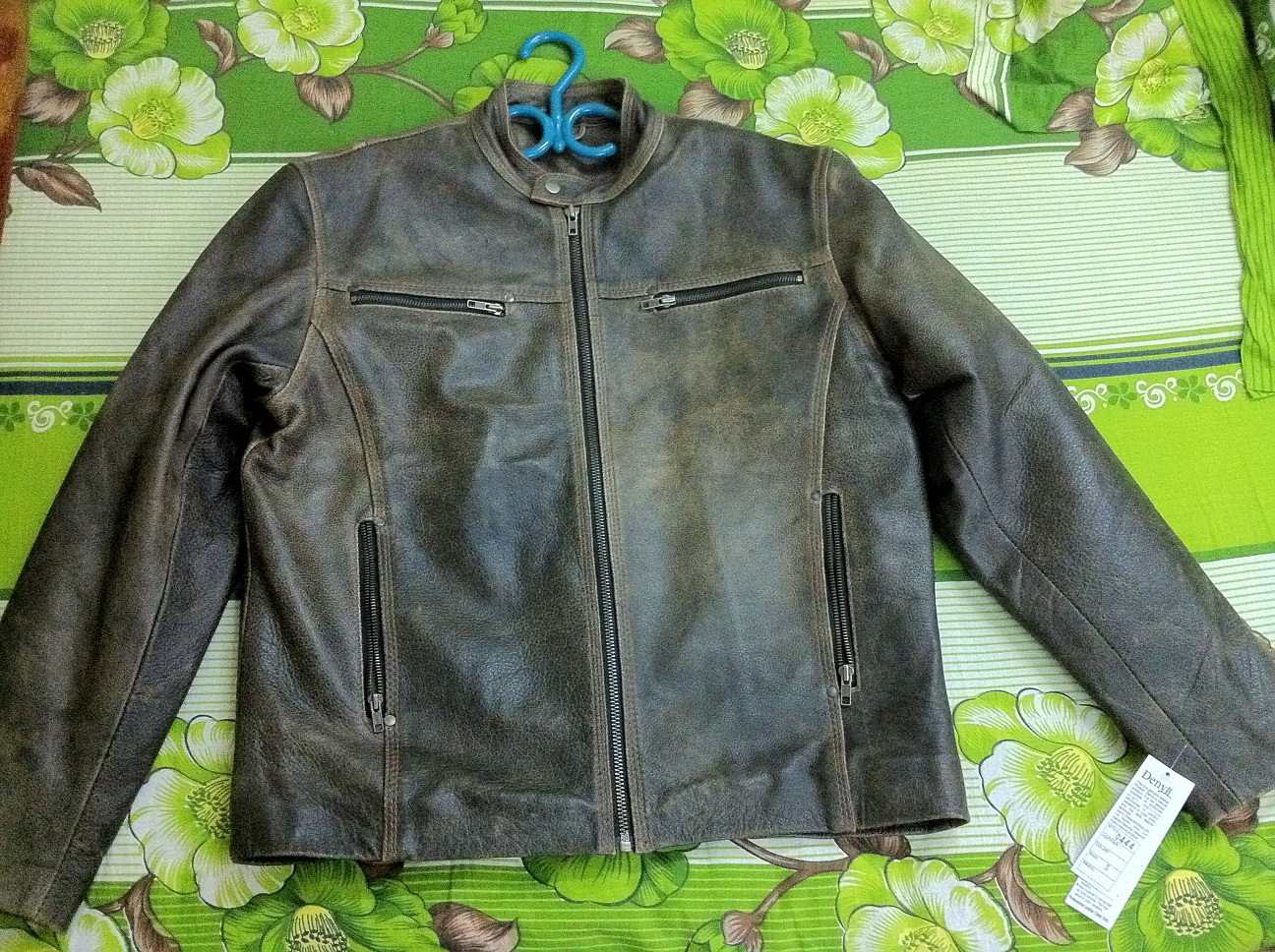 Premium quality Leather Jacket Biker style  | ClickBD large image 0