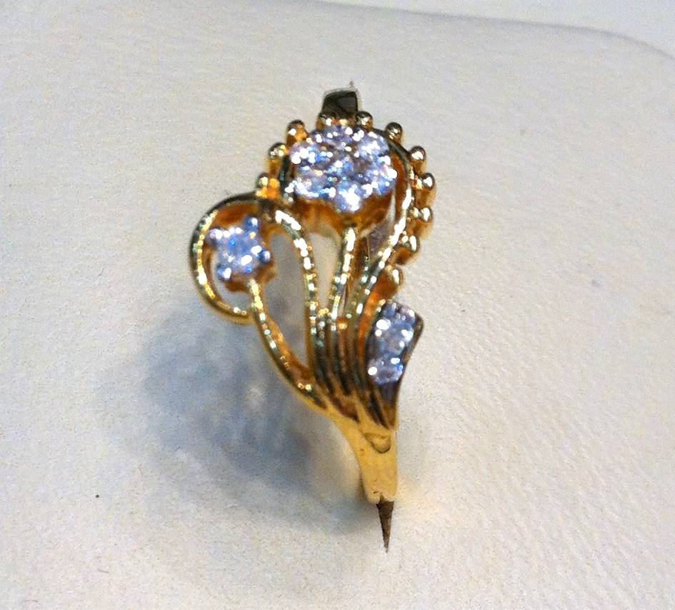EXCLUSSIVE DESIGNERS LADIES DIAMOND RING FORM TURKEY RARE | ClickBD large image 0