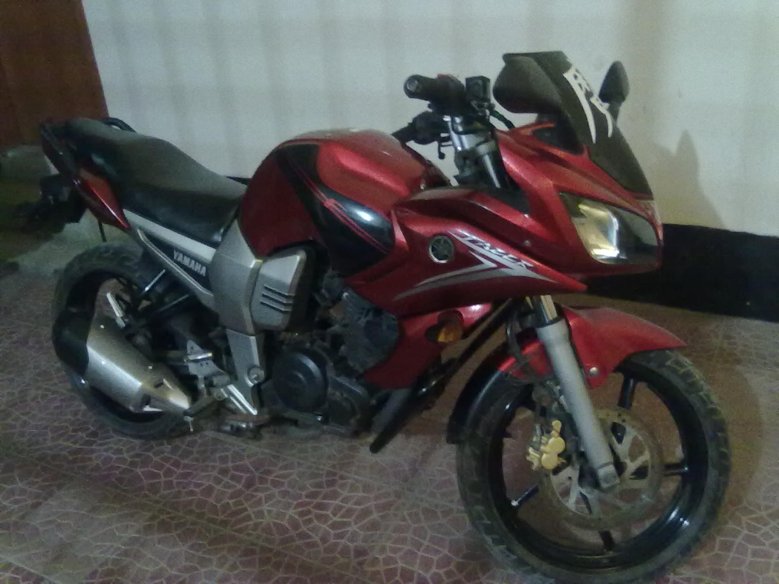 YAMAHA FAZER RED COLOR TOTALLY FRESH CONDITION   ClickBD Yamaha Fazer 150cc Red