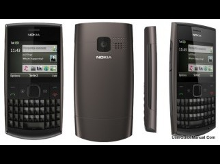 Nokia X2-01 2GB MMC With BOX And Warranty Black Color