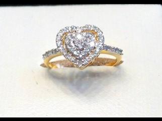Love Symbol DIAMOND RING VS 1