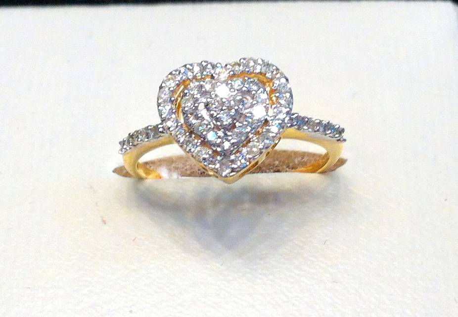 Love Symbol DIAMOND RING VS 1 | ClickBD large image 0