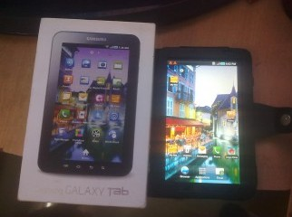 Galaxy tab white unlocked 3G wifi brand new.