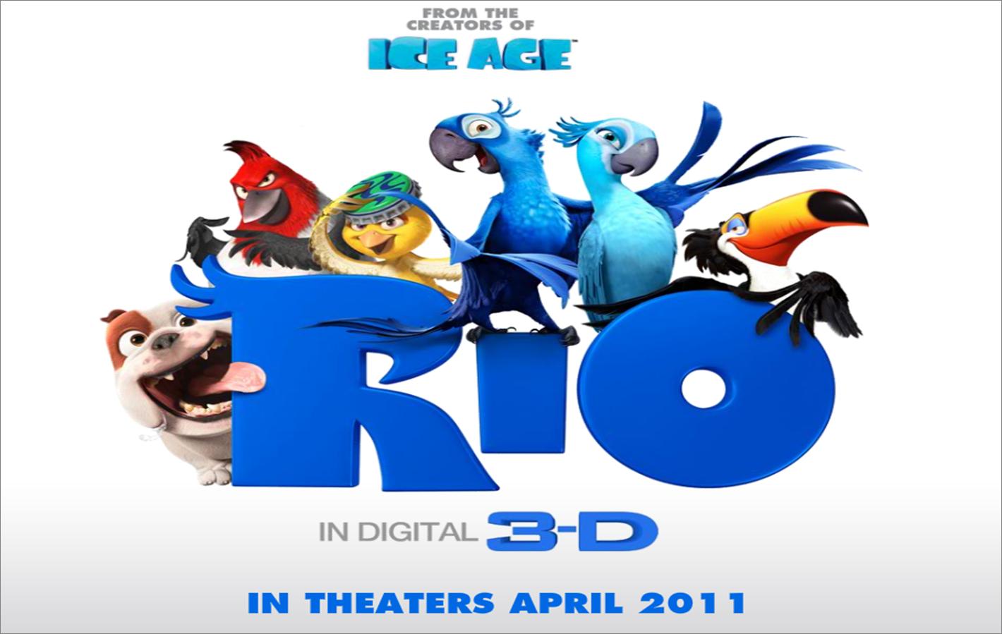 RIO in 3D 2011 Full Length Movie