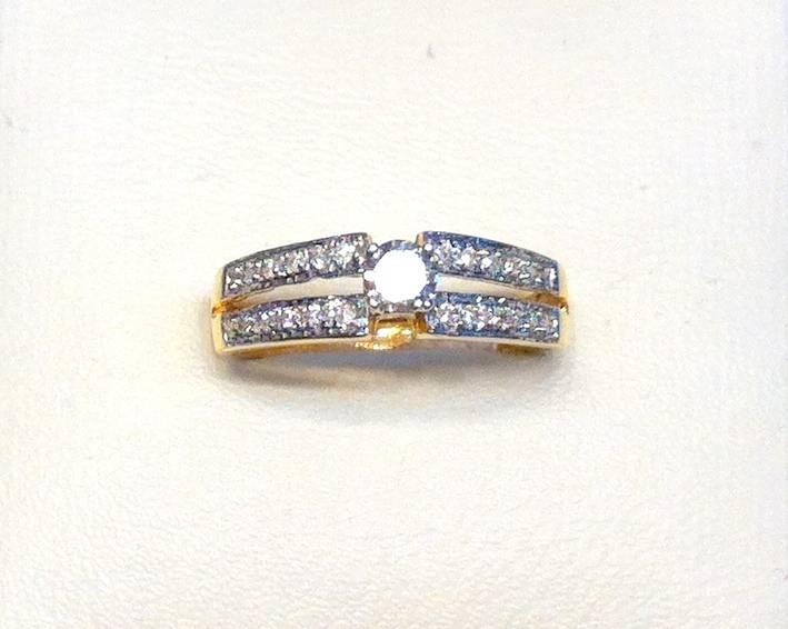 EXCLUSSIVE DESIGNERS LADIES DIAMOND RING | ClickBD large image 0
