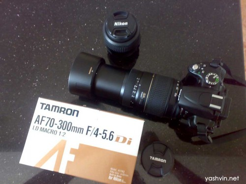 Tamron AF di LD Macro Lens 70-300mm For canon. Full boxed. | ClickBD large image 1