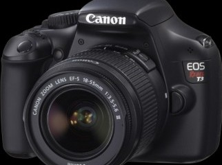 Canon EOS Rebel T3 12.2MP DSLR Camera with 18-55mm Lens