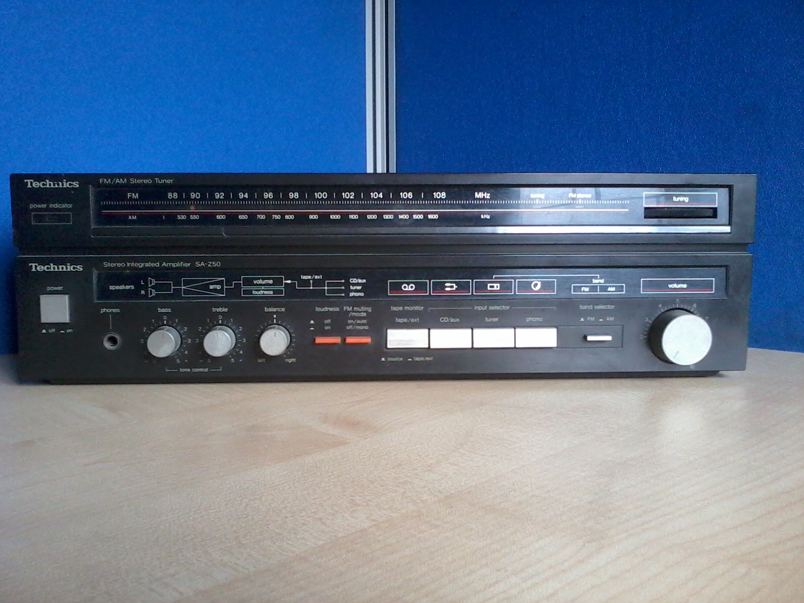 Technics SA-Z50 STEREO RECEIVER | ClickBD large image 1