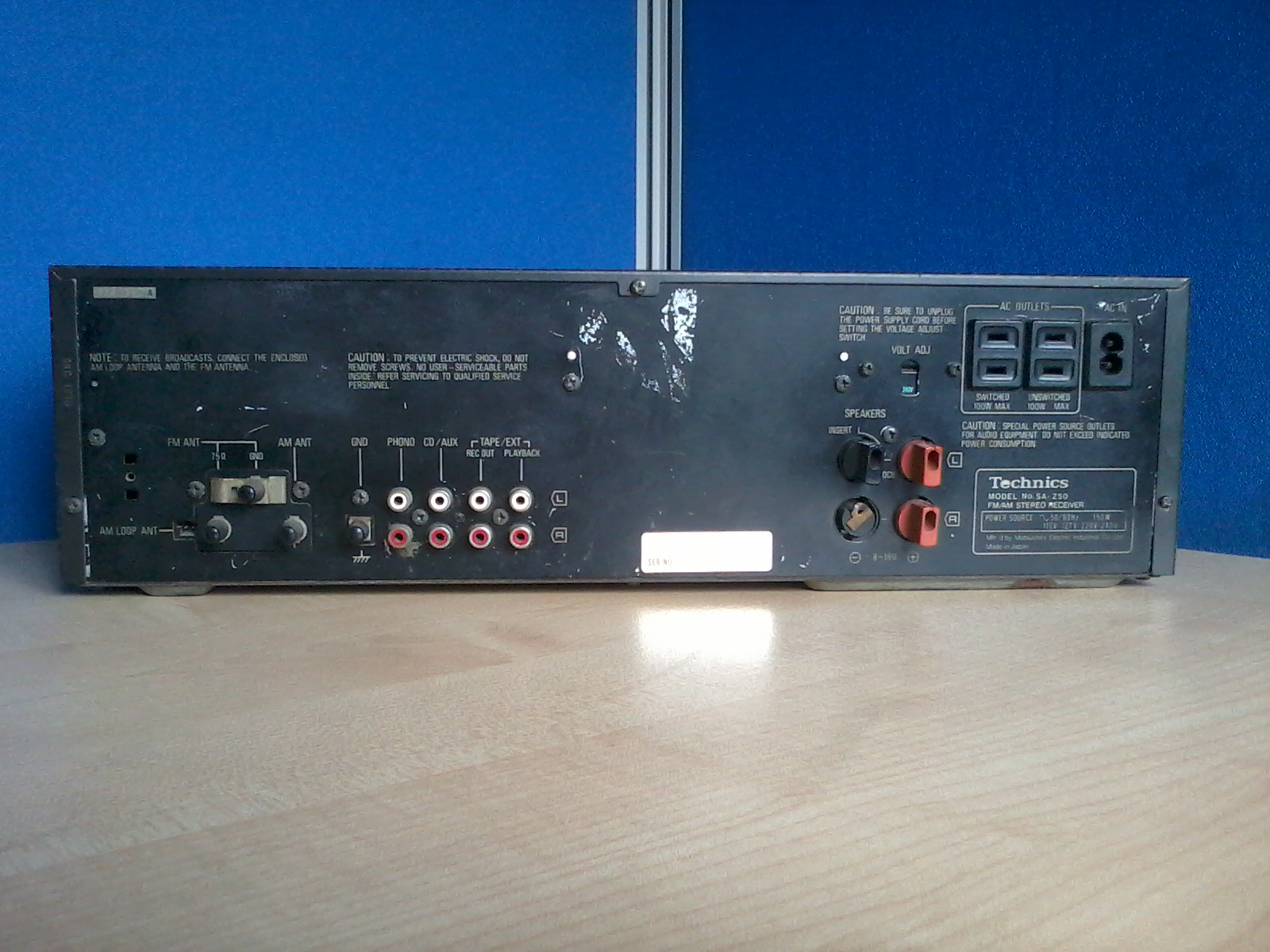 Technics SA-Z50 STEREO RECEIVER | ClickBD large image 2