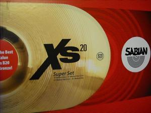 Sabian Xs20 Cymbals Super Set | ClickBD large image 0