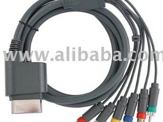 Xbox 360 Av and HD cable two lines