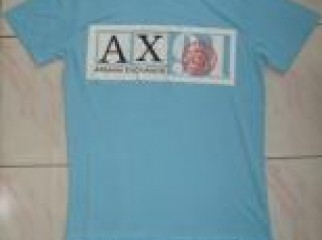 ARMANI EXCHANGE MENS SHORT SLEEVE TSHIRT